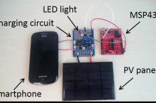 Microsoft AutoCharge carga la batería del móvil con luz