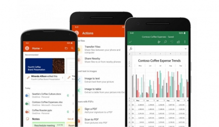 "Microsoft Office lanza beta ""todo en uno"" para dispositivos Android"