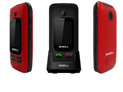 Mobiola MB610, un móvil fácil para mayores con 2 pantallas