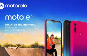 Moto E6s, Motorola nos presenta a un nuevo terminal de entrada