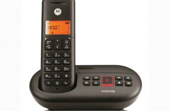 Motorola E211, un teléfono inalámbrico elegante con contestador