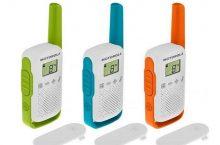 Motorola T42, unos walkie talkies para disfrutar cada momento