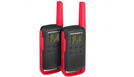 Motorola T62, walkie-talkie completo y barato a la vez