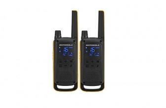 Motorola T82, walkie-talkie con alcance de hasta 10 kilómetros