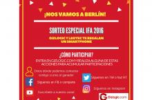 ¡Sorteo Especial #IFA2016! Llévate un Leotec Argon E250 [FINALIZADO]