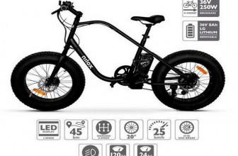 Nilox X3, una e-bike que no pasará desapercibida para ti