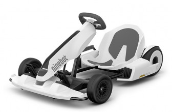 Ninebot Gokart Kit, convierte tu Segway miniPRO en un Kart de carreras