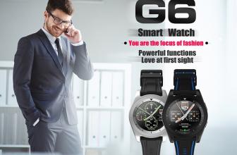 NO.1 G6, nuevo smartwatch a la vista con gran batería