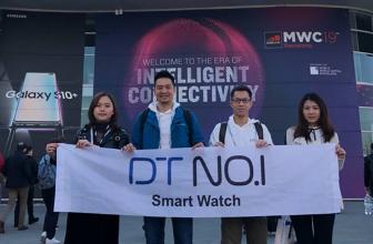 No.1 en MWC 2019, la marca asiática mostró su amplio catálogo