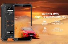 OUKITEL WP5, un smartphonerugerizadomuy resistente yeconómico