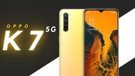 Oppo K7 5G ya es oficial y llega con atractivas especificaciones