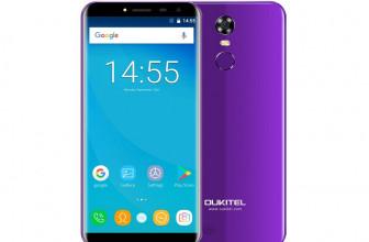 Oukitel C8, el primer smartphone low-cost con pantalla infinita