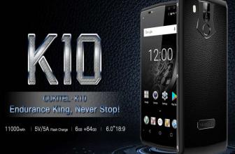 Oukitel K10, características y precio de un smartphone todo batería