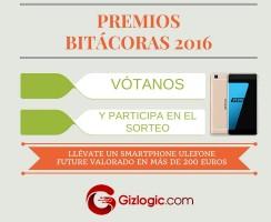 SORTEO #Bitacoras16: Vótanos y llévate un smartphone Ulefone Future [FINALIZADO]