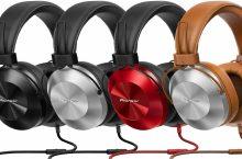 Pioneer SE-MS5T, unos auriculares asequibles compatibles con Hi-Res