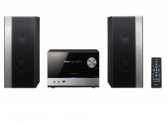 Pioneer X-PM12, microcadena con Radio FM, CD, USB, y Bluetooth