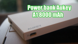 Power Bank Aukey A1 8000 mAh, lo hemos probado