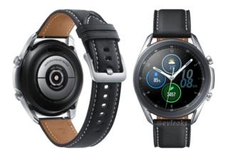 Samsung GalaxyWatch3, primer vistazo a su look y colores