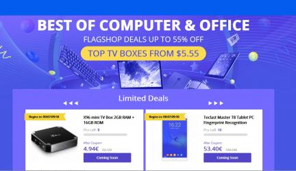 Promo PC y Tablets en el Aniversario de Gearbest