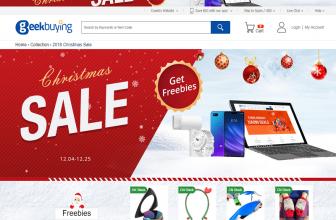 Promoción de Navidad de Geekbuying, ¡compra tus regalos más baratos!