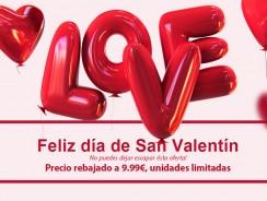 Promoción San Valentín, los mejores regalos para tu pareja