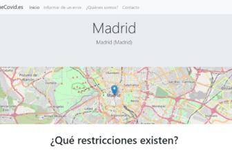 QueCovid.es, conoce las restricciones por COVID-19 en cualquier zona de España