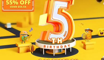 Gearbest celebra su quinto aniversario a lo grande