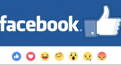 Reactions de Facebook para expresar más emociones
