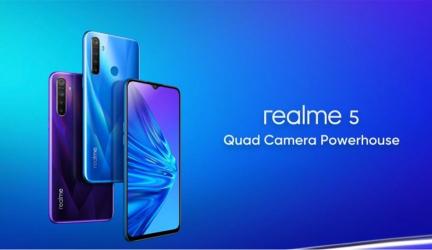Realme 5 y Pro se anuncian con cuatro cámaras y precio competitivo