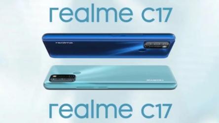 Realme C17, ya es oficial la nueva propuesta de gama media