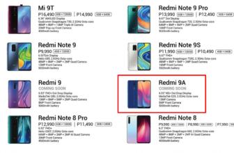 Redmi9A, se filtran las características de estenuevo gama básica