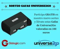 SORTEO: Gafas Universe2Go, ¡te llevamos a ver las estrellas!