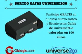 SORTEO: Gafas Universe2Go, ¡te llevamos a ver las estrellas! [FINALIZADO]