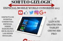 ¡SORTEO ESPECIAL MWC! Llévate una tablet Chuwi Hi8 Pro [FINALIZADO]
