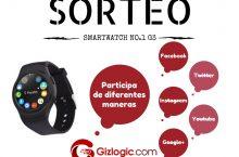 Sorteo Gizlogic: Llévate un smartwatch No.1 G3 gratis [FINALIZADO]
