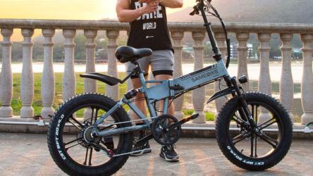 SamebikeXWXL09, bicicleta eléctricade bajocostoy alta velocidad