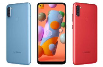 Samsung Galaxy A11 es finalmente anunciado de manera oficial