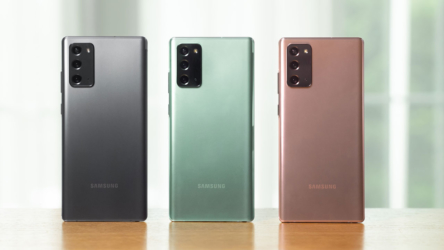Samsung Galaxy Note 20 y Galaxy Note 20 Ultra: Los titanes están aquí