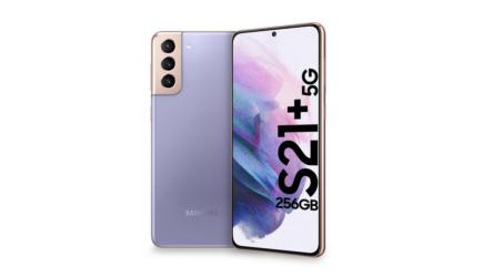 Samsung Galaxy S21+, con más pantalla y más batería