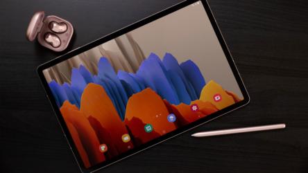 Samsung Galaxy Tab S7 y S7+, pantallas de 120Hz, 5G y versatilidad