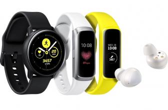 Samsung Galaxy Watch Active, Fit y Buds se anuncian oficialmente