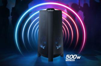 Samsung GigaPartyMXT50, que no pare la fiesta con este altavoz de 500W