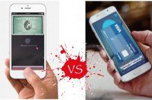Samsung Pay y Apple Pay, las diferencias que presentan
