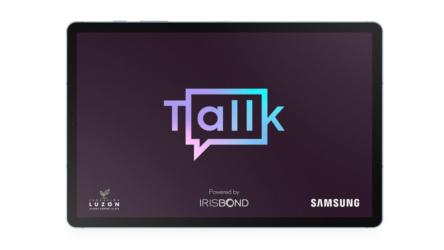 Samsung yIrisbondpresentanTallk, una app que permite hablar con la vista