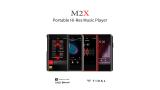 Shanling M2X, un reproductor de audio portátil con función USB DAC