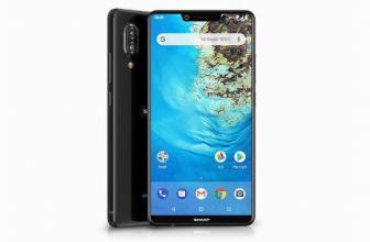 Sharp S3, un nuevo Android One con notch en su diseño