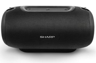 Sharp GX-BT480, un potente altavoz Bluetooth con 20 horas de autonomía