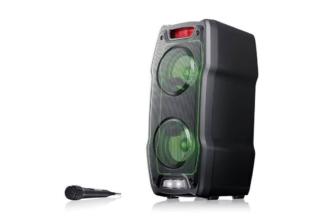 Sharp PS-929, altavoz para fiestas de 180W con batería integrada