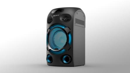 Sony MHC-V02, el equipo de audio ideal para tus fiestas