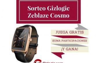 SORTEO: Llévate gratis el smartwatch Zeblaze Cosmo [FINALIZADO]